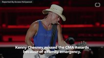 Kenny Chesney Cancels Attendance At The 2018 CMA Awards