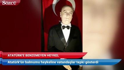 AVMde Atatürke benzemeyen heykel: Mustafa Cengize daha çok benziyor 5