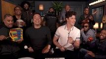 """Jimmy Fallon, Shawn Mendes & The Roots chantent """"Treat You Better"""" avec des instruments pour enfants"""
