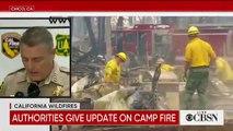 Californie : Le bilan s'est alourdi cette nuit de 7 victimes à 63 morts, mais surtout 631 personnes sont désormais portées disparues