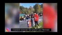 Clément Grenier fait plaisir aux Rennais, Memphis Depay parle encore et toujours
