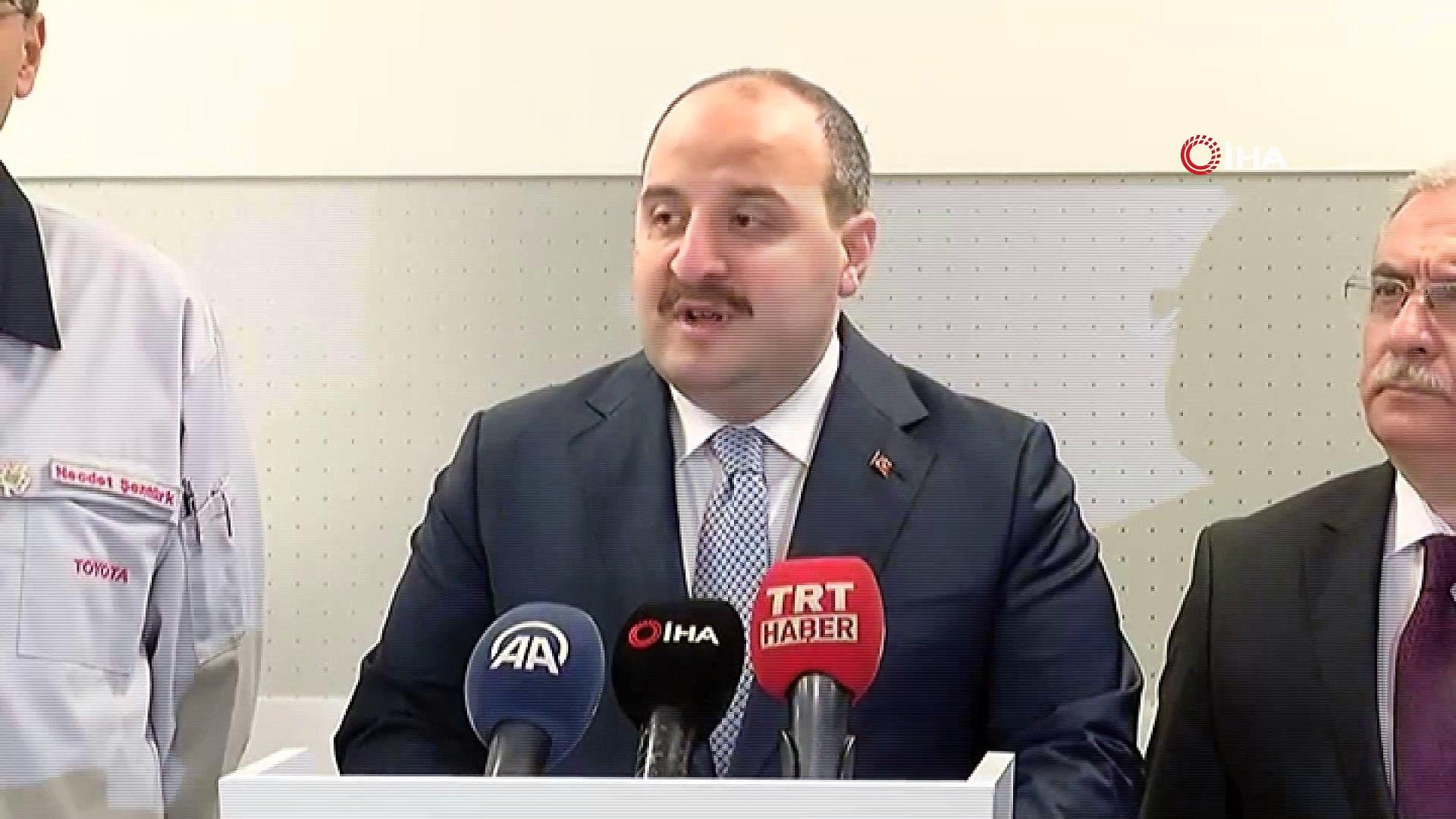 Sanayi ve Teknoloji Bakanı Varank: 'Yeni hibrit araçlar Ocak ayında seri üretimden çıkacak. Şub