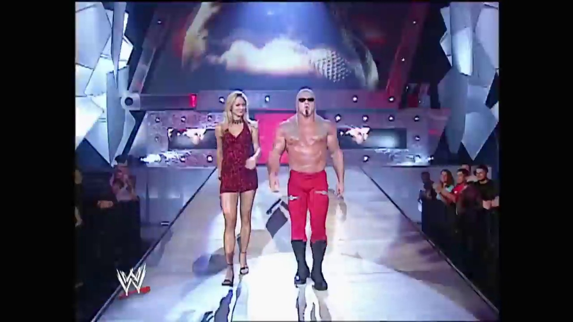 Scott Steiner With Stacy Keibler vs Steven Richards Raw 06.02.2003 by wwe entertainment