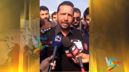 SSP Tahir Dawar Video Before Shahadat