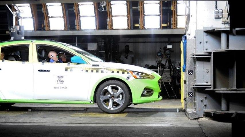 Ford Focus Crash Test 2018