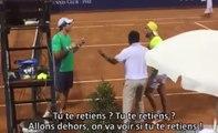 Deux tennismen pro s'insultent et veulent se battre pendant un match !