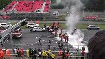 Une Lamborghini Gallardo se crashe violemment pendant une course à Brno, en République Tchèque