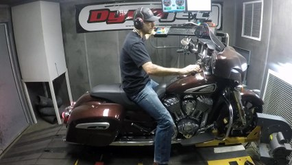 2019 Indian Chieftain Limited Dyno Run