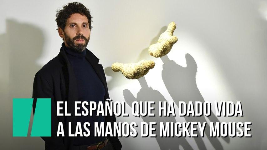 El artista español que ha dado vida a las manos de Mickey Mouse