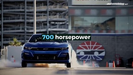 Chevy eCOPO Camaro Concept: Drag Racing Goes Electric!
