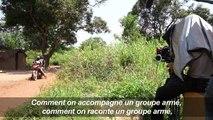 A Bangui, tournage d'un film sur la journaliste Camille Lepage