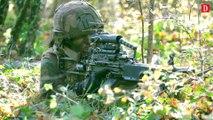 Caylus, centre névralgique des combats pour l'exercice militaire multinational falcon amarante.