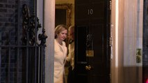 Rudd leaves Downing Street as work and pensions secretary