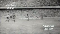 Boca Juniors vs Racing Club - Torneo de Primera A 1956