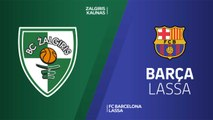 Zalgiris Kaunas - FC Barcelona Highlights | Turkish Airlines EuroLeague RS Round 7