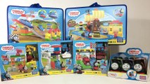 Thomas and Friends Mega Bloks Toy Haul Hidden Treasure Railway Race Day || Keith's Toy Box