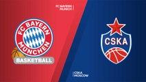 FC Bayern Munich - CSKA Moscow Highlights | Turkish Airlines EuroLeague RS Round 7
