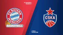 FC Bayern Munich - CSKA Moscow Highlights | Turkish Airlines EuroLeague RS Round 7
