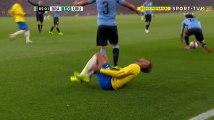 Edinson Cavani Foul on Neymar - Brazil vs Uruguay - Friendly Match 2018 HD