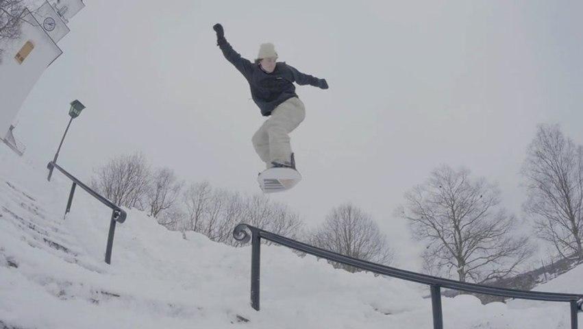 Making Snowboarding Look Easy