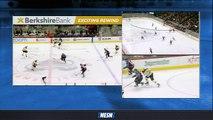 Bruins' Jake DeBrusk Uses Speed To Score Breakaway Goal Vs. Avalanche