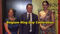 Manushi Chillar at Belgian Consulate Red Carpet for Belgium King Day Celebration