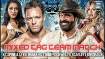Scarlett Bordeaux & Stone Rockwell vs. Eli Drake & KC Spinelli iMPACT Wrestling One Night Only: BCW 25th Anniversary 2018