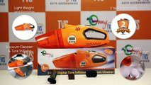myTVS 2 in 1 Vacuum Cleaner & Tyre Inflator