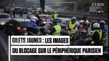 Gilets jaunes : plusieurs blocages sur le périphérique parisien
