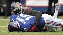 JPP fired up after sack on former teammate Eli Manning