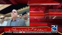 Governor Sindh Imran Ismail Defends Imran Khan U-Turns