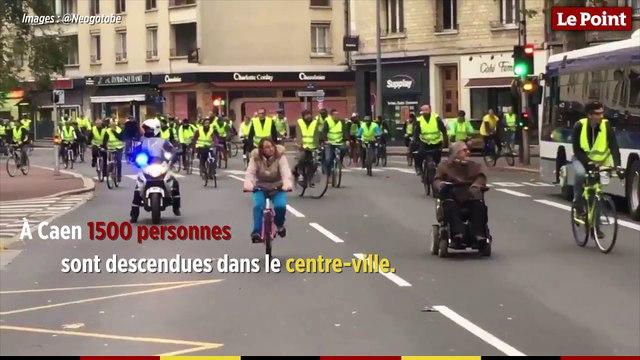 Gilets jaunes : tour d'horizon des manifestations en France