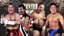 Satoshi Kojima and Hiroyoshi Tenzan vs Manabu Nakanishi and Yuji Nagata NJPW World Tag League