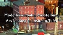 Modelleisenbahn Spur H0 Anlage ArsTecnica in Losheim in der Eifel - Ein Modellbahn-Video von Pennula der einst größten und digital gesteuerten Modellbahn in Europa