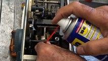 Reparation Machine a coudre elna - إصلاح ماكينة الخياطة  - Comment réparer une machine à coudre Vidéo