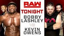 WWE Raw: Bobby Lashley vs. Kevin Owens | Español Latino HD