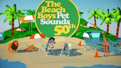 The Beach Boys - Pet Sounds 50 Animated Music Video