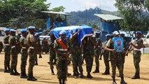RDC : hommages aux casques bleus tués mercredi à Béni