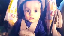 100 Funny Baby Surprise Face Compilation. Enjoy  and Smile Cuteness of Babies.