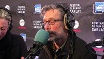 """L'équipe du film """"L'incroyable histoire du Facteur Cheval"""" au Festival du Film de Sarlat (Nils Tavernier et AlenxdraFechner)"""