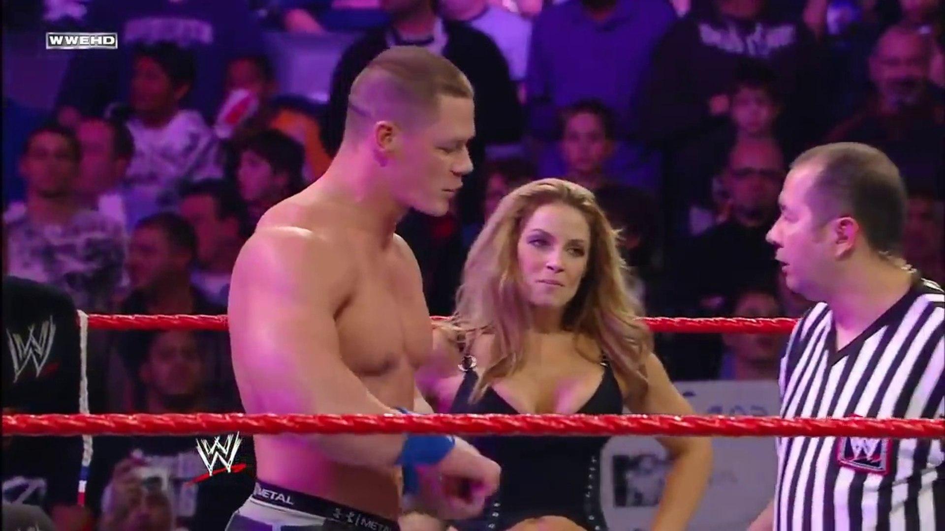 WWE John Cena and Trish Stratus vs Santino and Beth Phoenix | December 22, 2008 by wwe entertainment