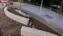 ABD'de Sürücü 170 Km Hızla Polis Karakoluna Uçtu
