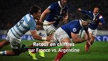 Test match - Retour en chiffres sur France vs. Argentine