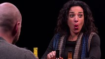 """Michelle Miller sits in the """"Hot Ones"""" hot seat"""