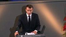 Discours du Président de la République lors de la cérémonie commémorative devant le  Bundestag