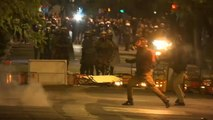 Nappal békés, este erőszakos tüntetések voltak Athénban