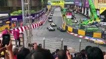 Formula 3'te korkunç kaza! 4 kişi yaralandı