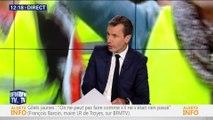 """Mobilisation des """"gilets jaunes"""" : """"c'est un message d'alerte extrêmement profond"""", François Baroin"""