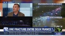 """""""Notre mouvement c'est la France périphérique, elle n'est pas gauche elle n'est pas de droite elle galère"""" explique ce gilet jaune"""