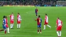 Le premier but surpuissant de Dani Alves avec le FC Barcelone